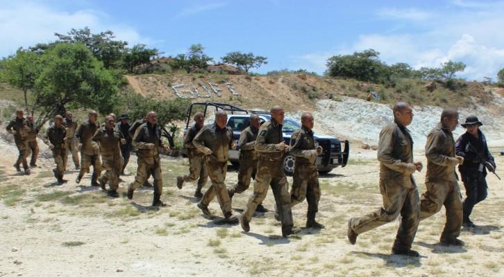 Inicia adiestramiento 5ª generación del grupo urbano de fuerzas especiales: GUFE (16:29 h)
