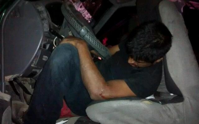 1 muerto y 5 heridos saldo de choque en carretera Oaxaca-Tlacolula (18:21 h)