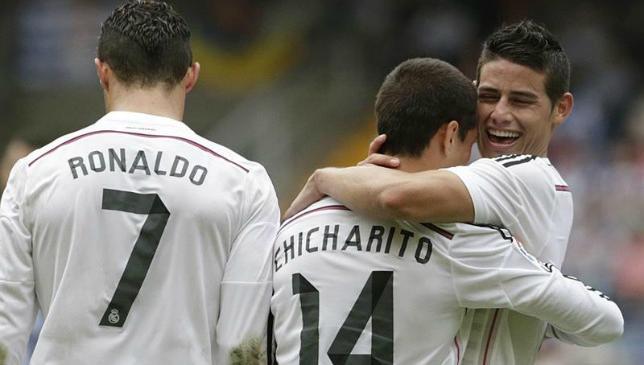 Chicharito busca más goles en Liga (10:17 h)