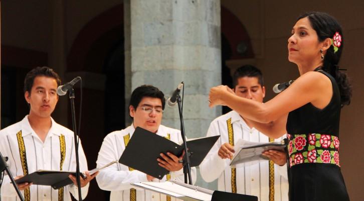 "Coro ""Axis mundi"" de la Uabjo busca nuevos integrantes (13:20 h)"