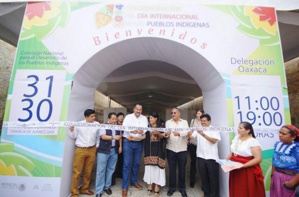 Celebra CDI a pueblos  originarios de Oaxaca (13:55 h)