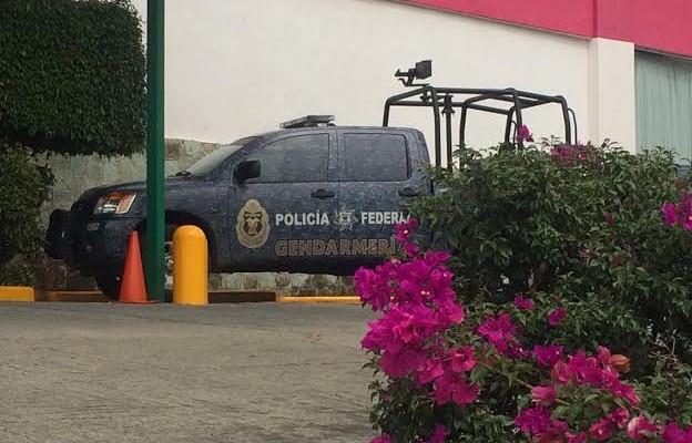 Llega un grupo de la Gendarmería Nacional a Oaxaca (10:36 h)
