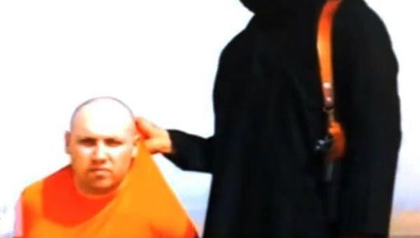 ISIS filtra video de decapitación del periodista estadunidense, Steven Sotloff (17:05 h)