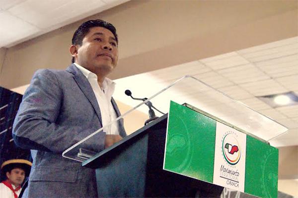 Asiste Galdino a protesta de Comités Municipales del MT del PRI (17:40 h)