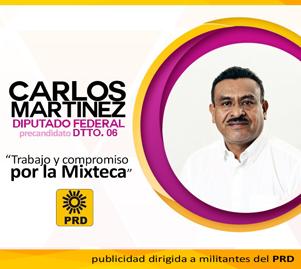 Carlos Martínez Diputado Federal