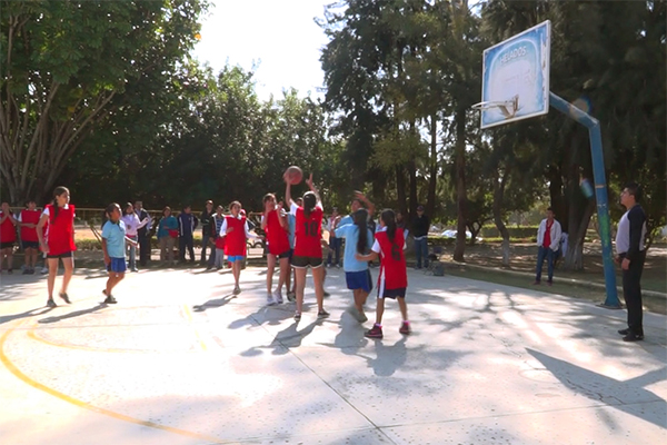 Se realiza en Oaxaca la Jornada Deportiva de Escuelas Secundarias Generales Zona 024 (13:00 h)