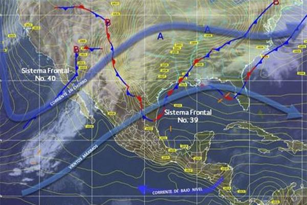 Frente Frío 40, favorecerá potencial de lluvias en territorio oaxaqueño (10:10 h)