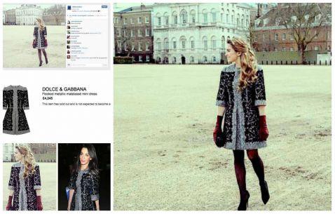 Sofía Castro lució vestido de más de 100 mil pesos en Reino Unido (20:25 h)
