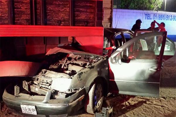 Siete personas lesionadas el saldo de jornada nocturna en Oaxaca (09:00 h)
