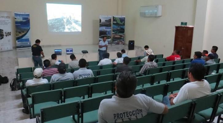 Se declara activa y en alerta Conanp para temporada de incendios forestales 2015 en Oaxaca (13:31 h)