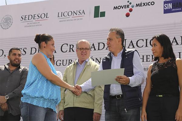 Liconsa, protector de los productores de leche: Graco Ramírez (09:13 h)
