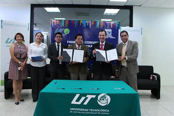 Signan convenio de colaboración UTVCO e INEGI (17:45 h)