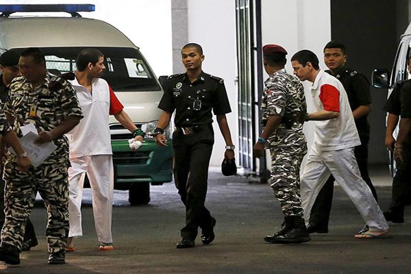 CNDH pide a Malasia suspender pena de muerte para tres mexicanos (19:45 h)