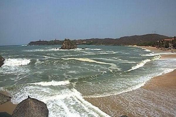 Habilitarán albergue temporal en Puerto Escondido por efectos de Mar de Fondo (18:00 h)