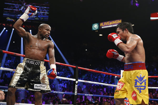 Mayweather contra Pacquiao, del ring al tribunal (19:19 h)