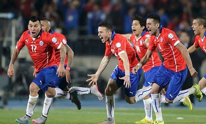 Rompen sequía; Chile, campeón de Copa América (18:15 h)