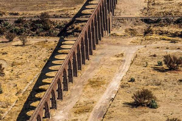 UNESCO inscribe en lista del patrimonio mundial el Acueducto del Padre Tembleque (17:48 h)