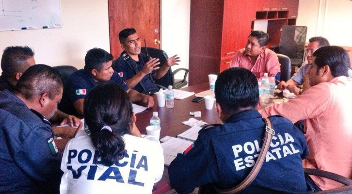 Galdino Huerta atiende las necesidades de la Comisión de Seguridad Pública y Vialidad municipal (10:15 h)