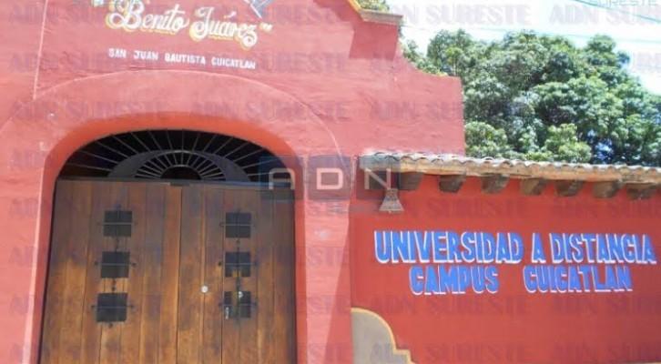 Ladrones se llevan 15 computadores del centro cultural Benito Juárez en Cuicatlán(19:30 h)