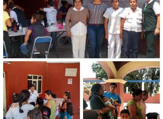 Habitantes de Santa Lucía del Camino son beneficiadas con servicios gratuitos en la Jornada de Salud 2015 (19:15 h)