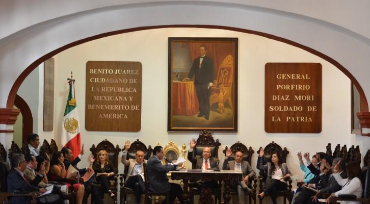 Cabido municipal autoriza donación de prediopara el DIF estatal (16:55 h)
