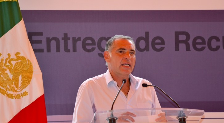 Nadie podrá impedir el Grito de Independencia oficial: Gabino Cué (18:10 h)
