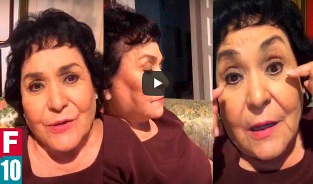 Ya son más de 180,000 firmas que exigen retirar la diputación a la actriz Carmen Salinas (19:45 h)