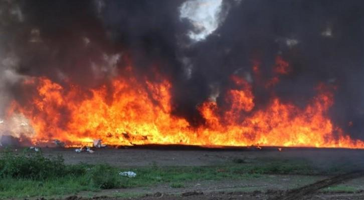 Incinera PGR Oaxaca mas de 434 kilos de narcóticos (21:30 h)