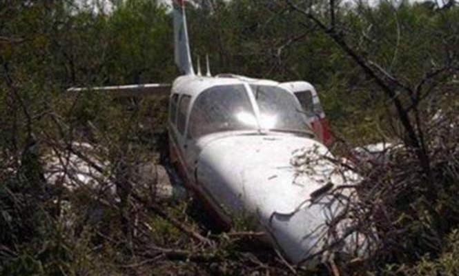Se desploma avioneta cargada con cocaína en Michoacán (20:55 h)