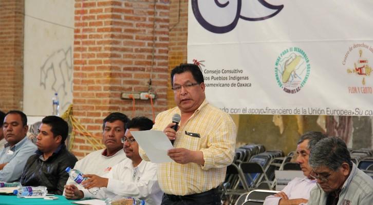 Diputado Alejandro Martínez reafirmasu compromiso con los pueblos indígenas (16:35 h)