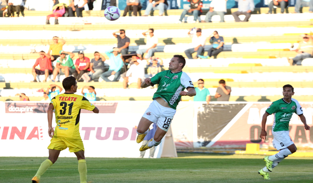 Triste empate a 1 gol entre Alebrijes y Murciélagos (09:27 h)