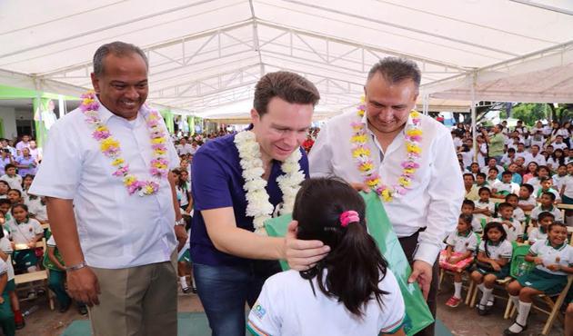 Reconoce Manuel Velasco crecimiento de Liconsa en Chiapas (11:05 h)