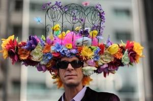 desfile de sombreros